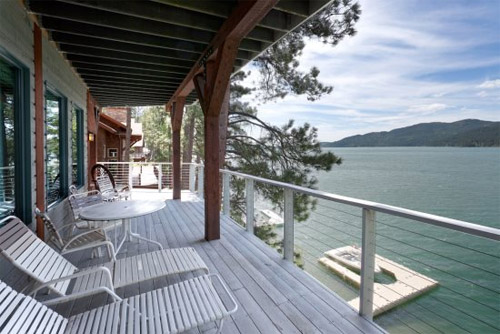 Montana Lake House Vacation Rental on Whitefish Lake