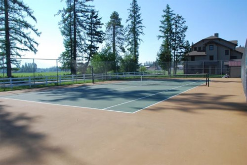 Monterra Resort Tennis Courts Whitefish Montana