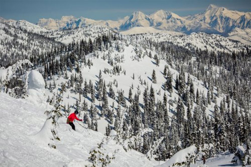 Slopeside Ski in Ski out Vacation Rental Whitefish Montana